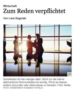 Artikel Tagesspiegel Foto