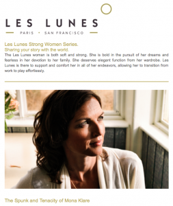 Les Lunes/ Mona Klare/ photo: Frank Rösner