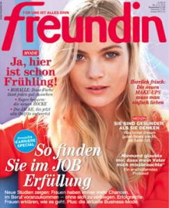 Magazin FREUNDIN, Heft 5/2014